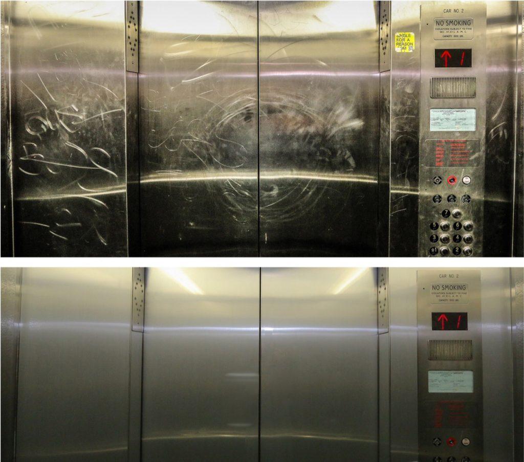 elevator surface film san antonio contractor
