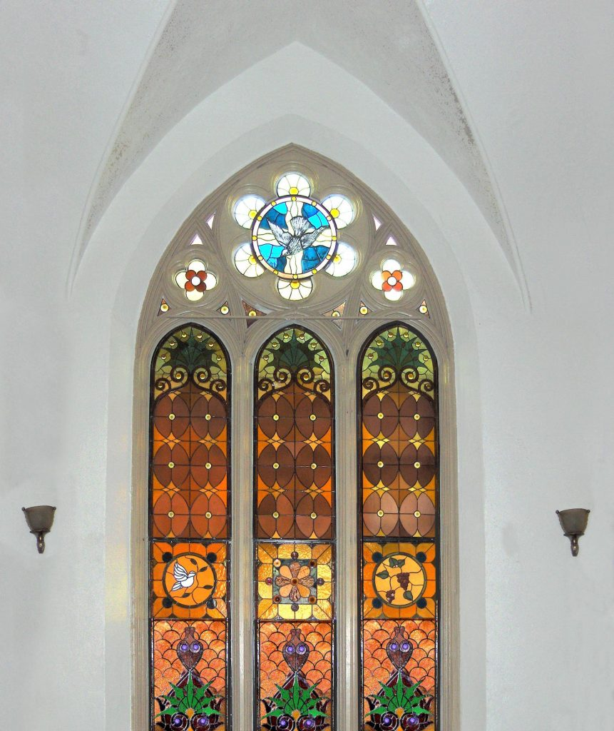 san antonio church window film