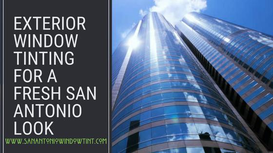 exterior resurfacing window film san antonio