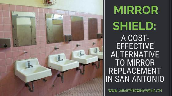 mirror shield graffiti window film San Antonio (1)