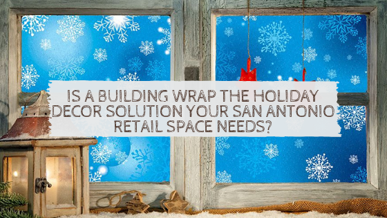 san antonio decorative building wrap window film
